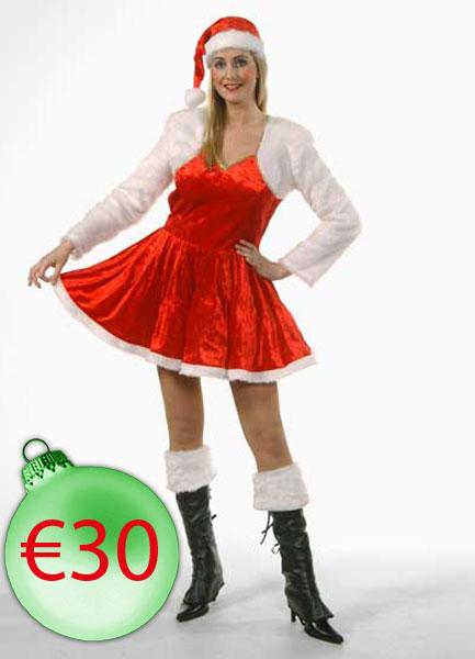 Kerstvrouw-Kort-Bolero